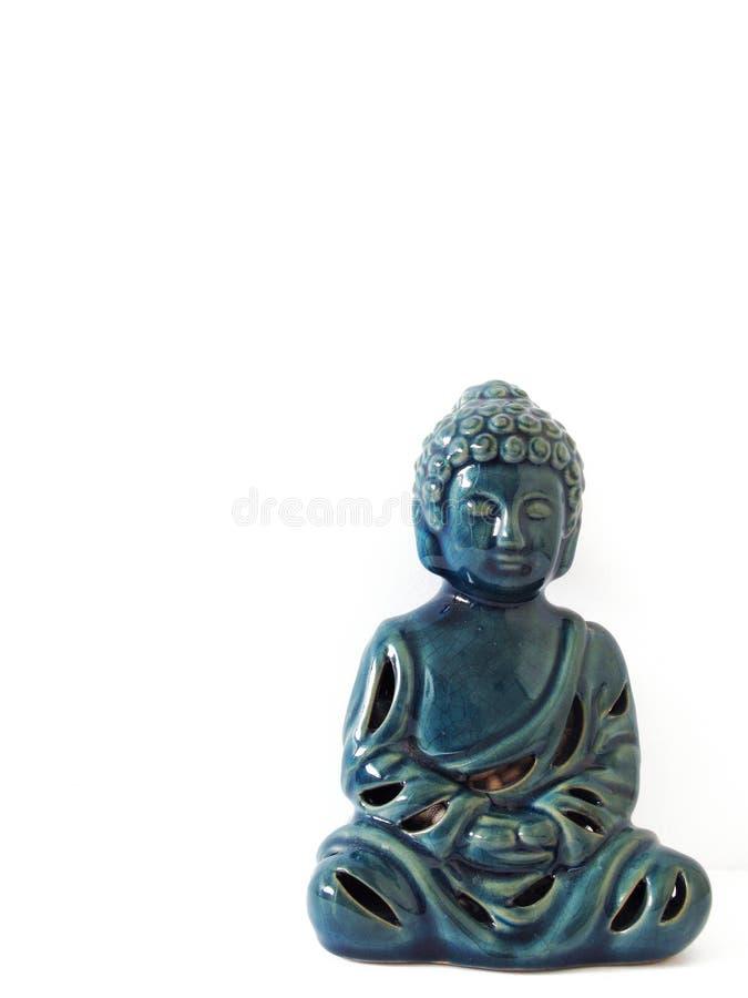 Grön Cermanic Buddha arkivfoton