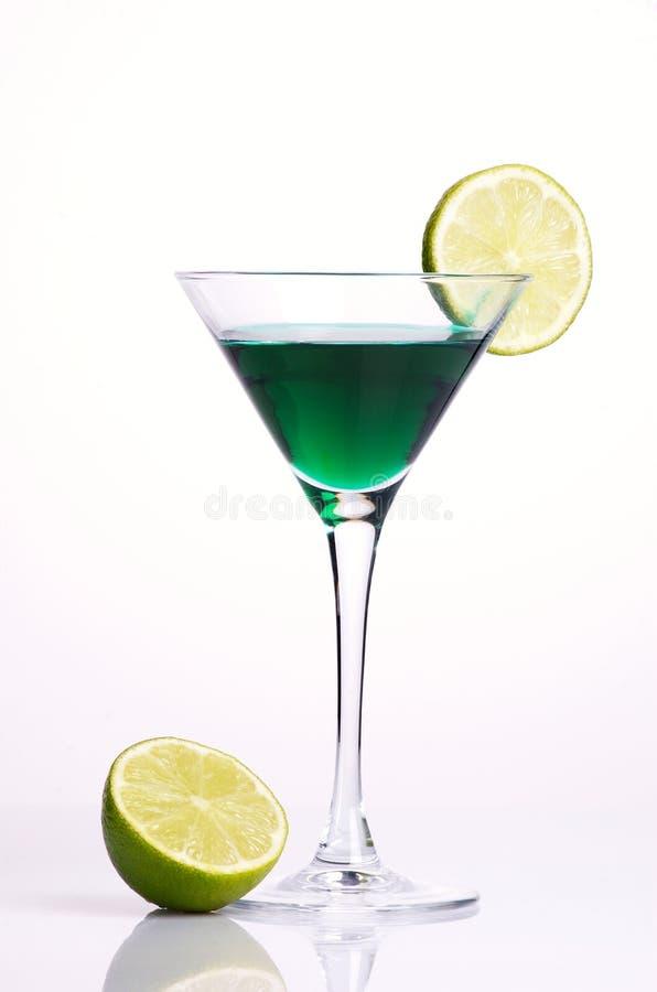grön citron för coctail fotografering för bildbyråer