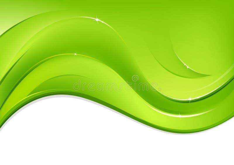 Grön design arkivbild