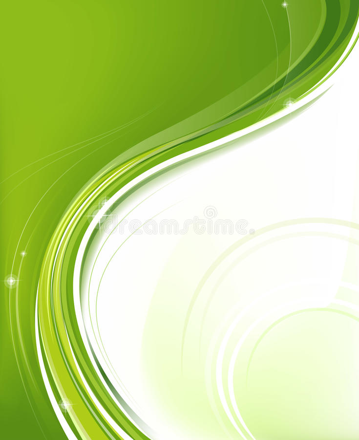Grön designbeståndsdel royaltyfri foto