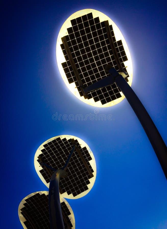 Grön energigenerator royaltyfria foton