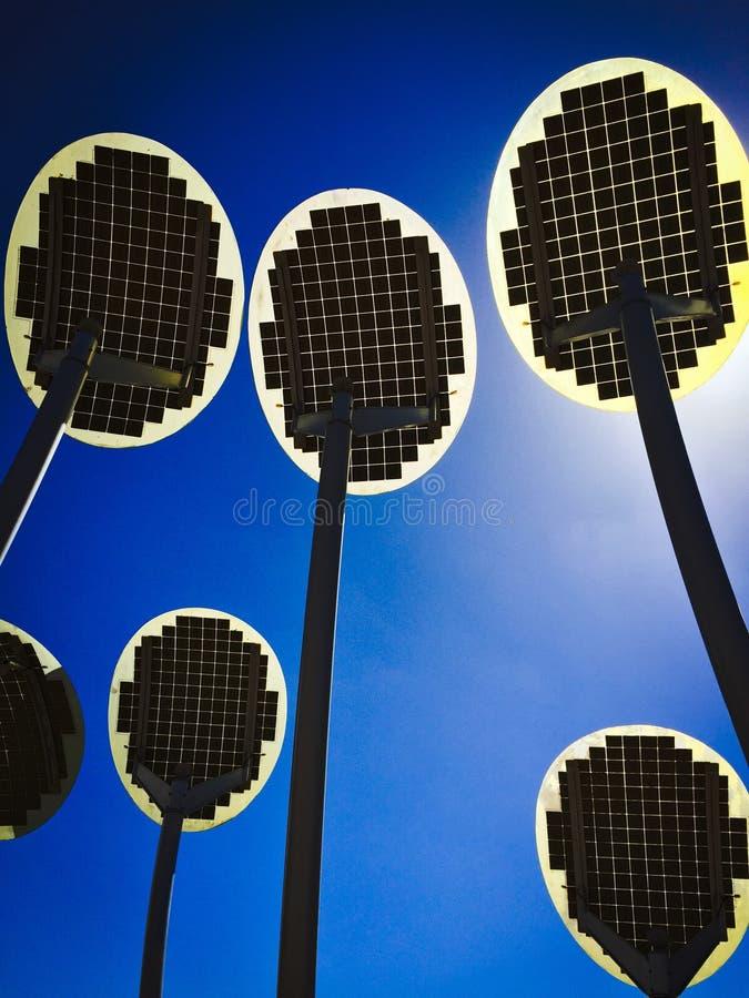 Grön energigenerator arkivfoto