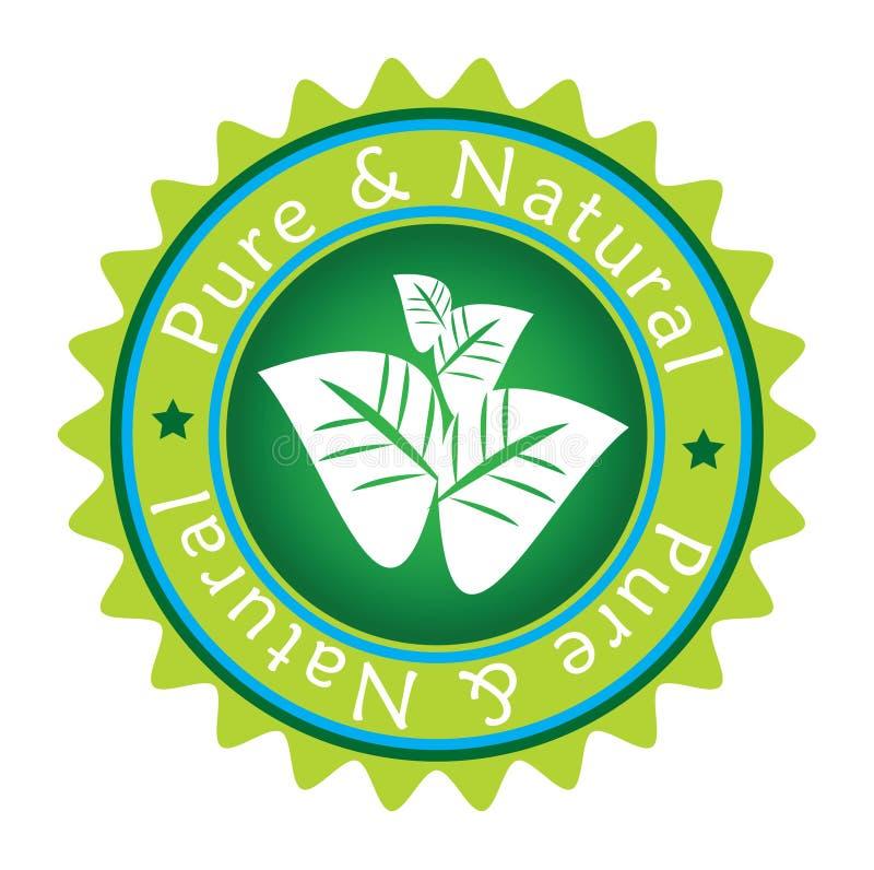 grön etikett vektor illustrationer