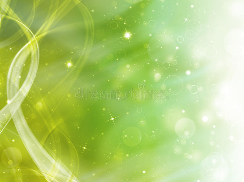 Grön festlig bakgrund royaltyfri illustrationer