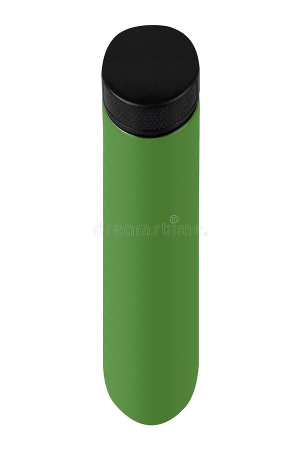 Grön flaska av lokalvårdprodukten arkivbilder