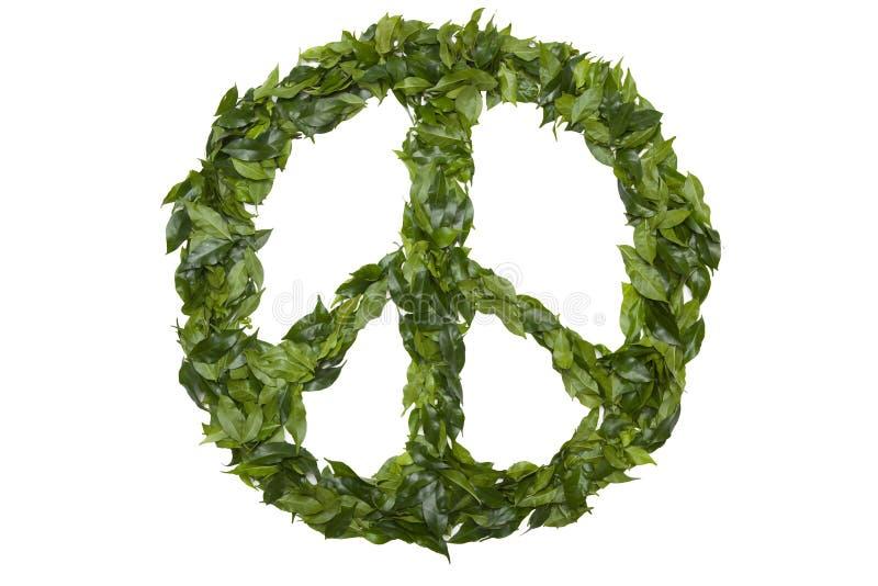 grön fred arkivfoto
