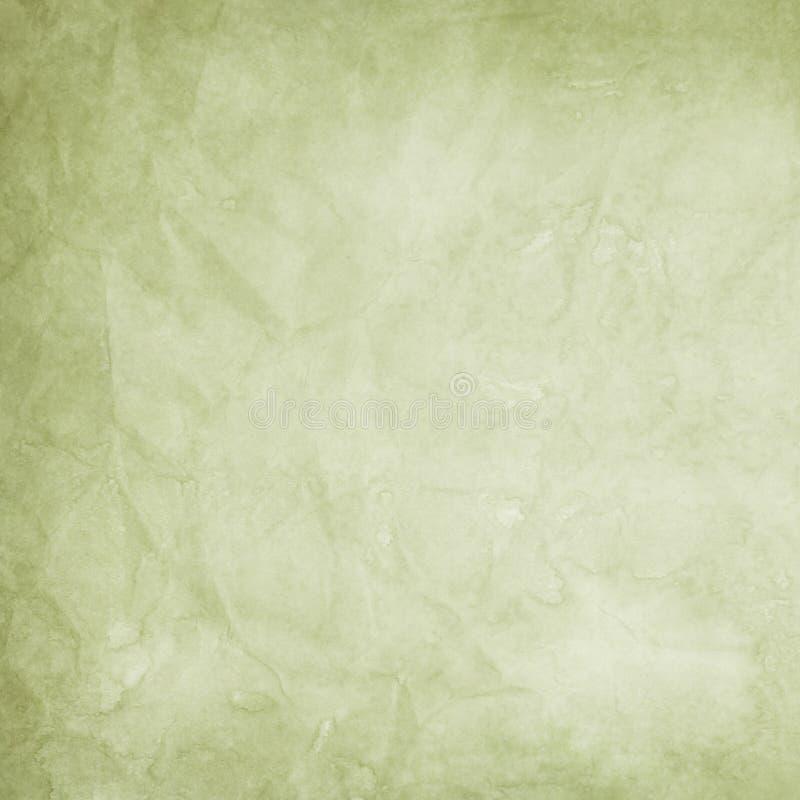 grön gammal paper textur stock illustrationer