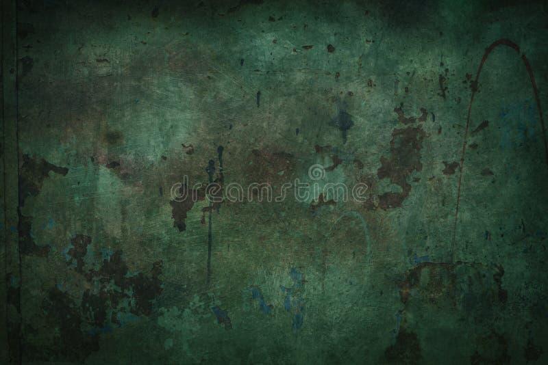 grön gammal vägg royaltyfri foto