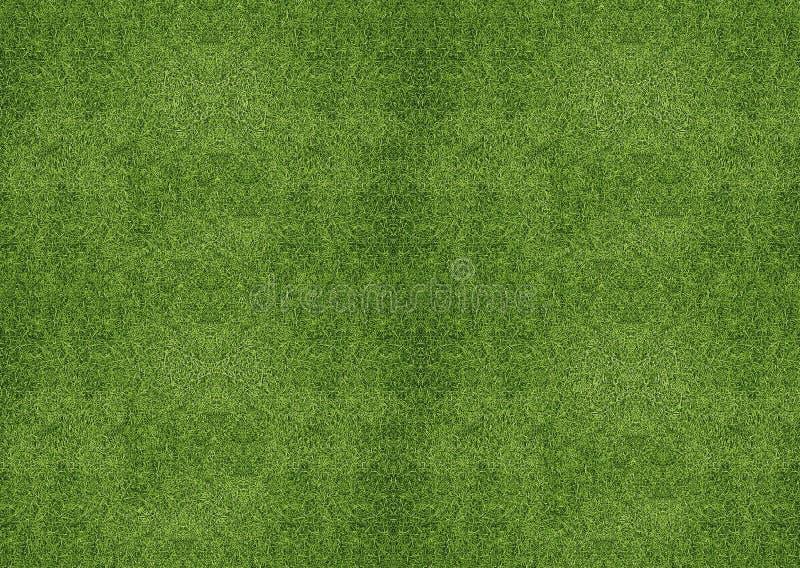 Grön grässlätt royaltyfri illustrationer