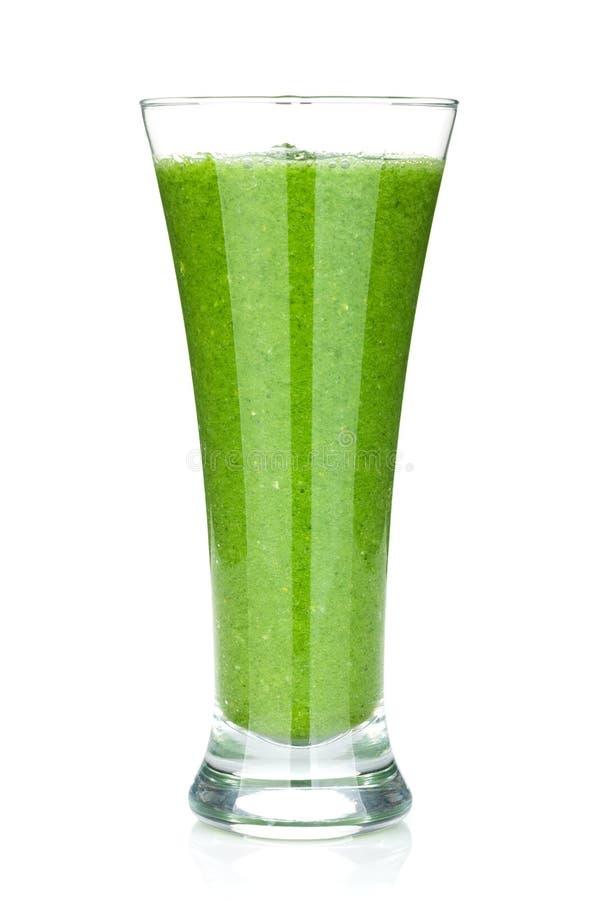 Grön grönsaksmoothie royaltyfri fotografi