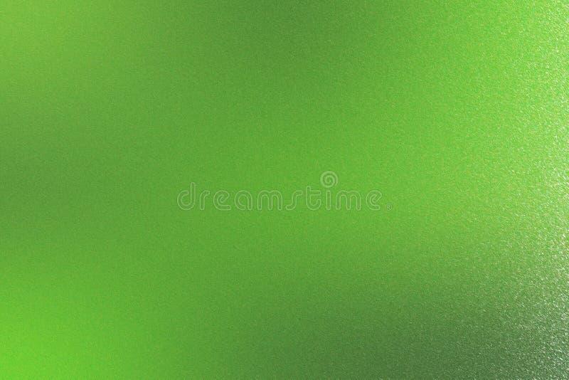 Grön grov metalltextur, abstrakt bakgrund arkivbilder