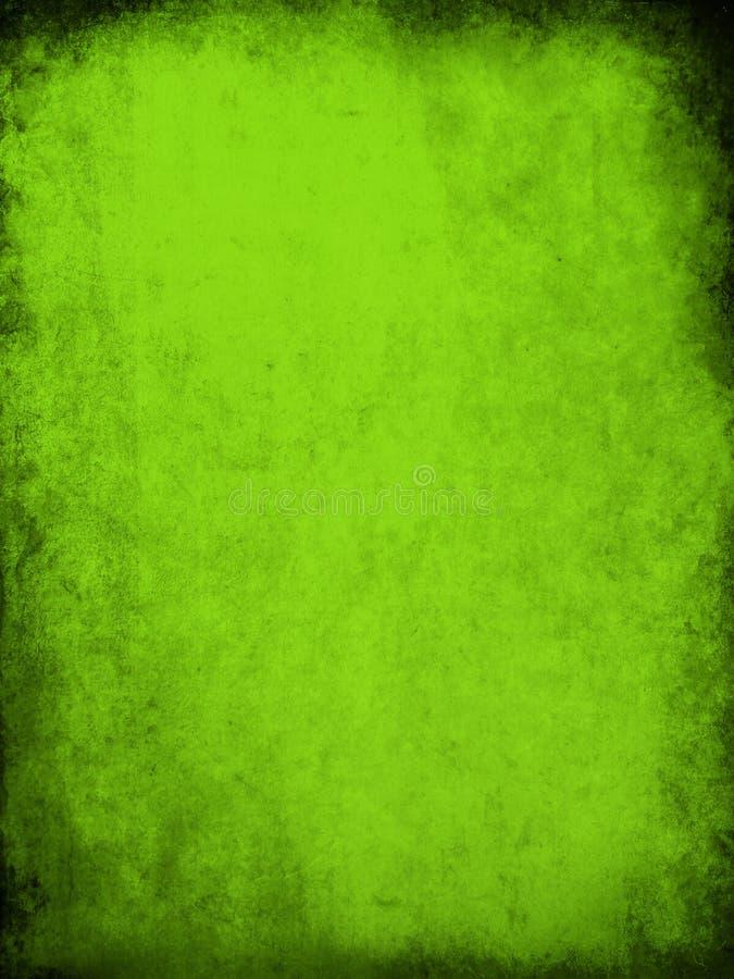 grön grungetextur stock illustrationer