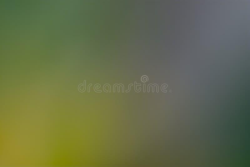 Grön, gul och purpurfärgad slät och suddig tapet/bakgrund arkivfoton