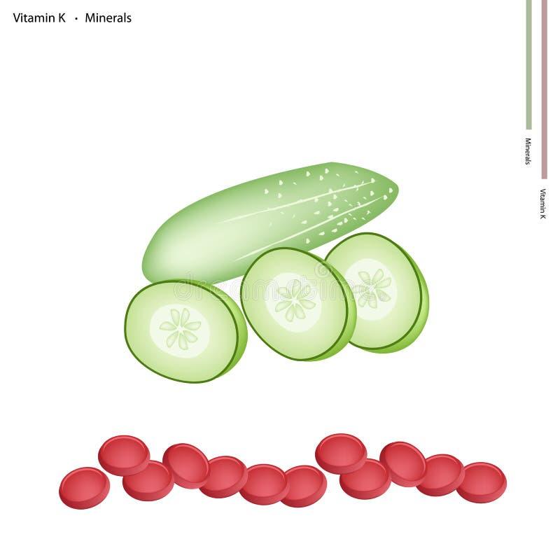 vitaminer i gurka