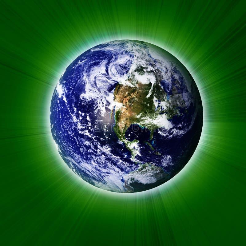 Grön jord vektor illustrationer