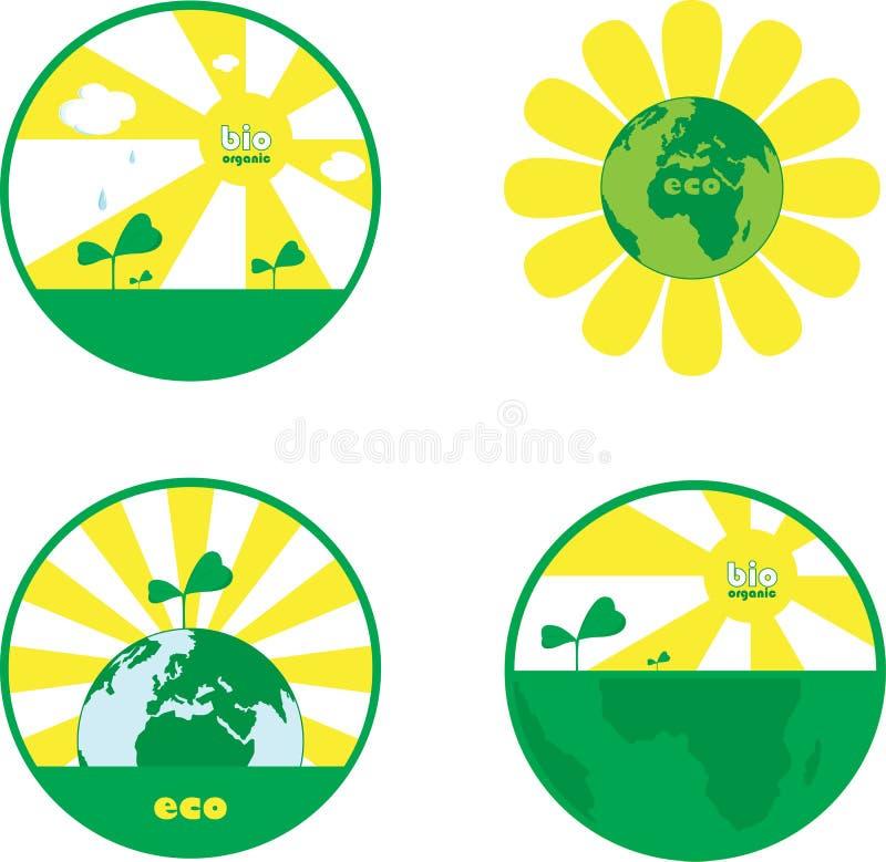 Grön jord royaltyfri foto
