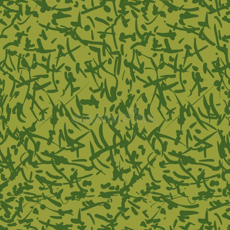 Grön kamouflage med fläckar arkivbilder