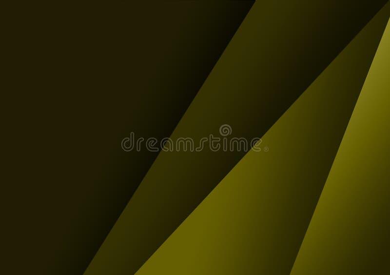 Grön linjär texturerad bakgrundsdesign för tapet stock illustrationer