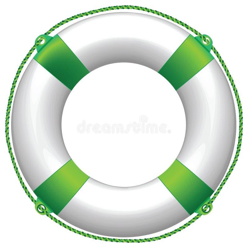grön livstid för boj vektor illustrationer
