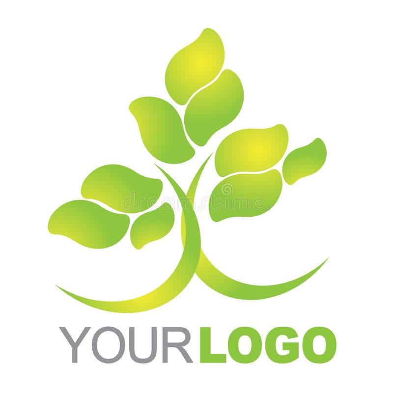 grön logo vektor illustrationer