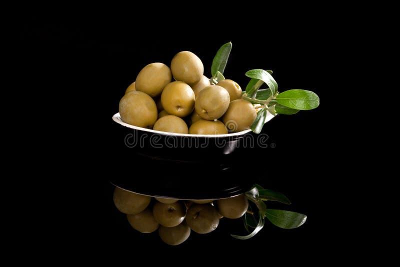 grön lyxig olivgrön för bakgrund royaltyfri fotografi