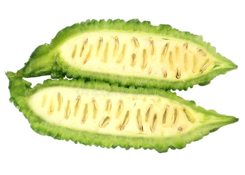 grön momordica arkivfoto