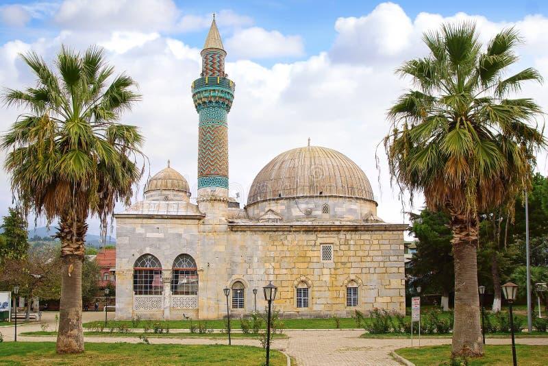 Grön moské i Iznik royaltyfria bilder