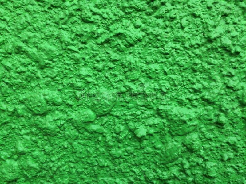 Grön murbruktextur arkivbilder