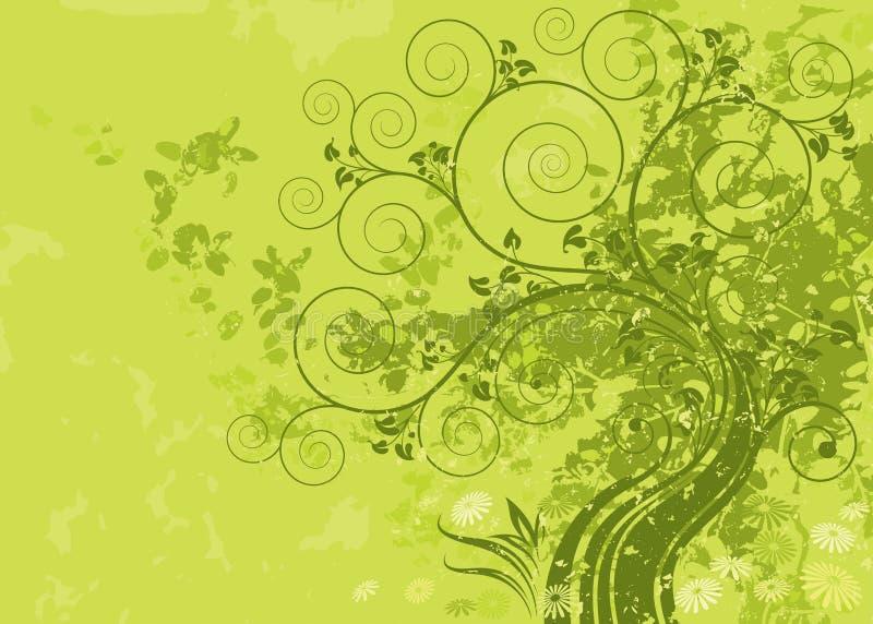 grön natur vektor illustrationer
