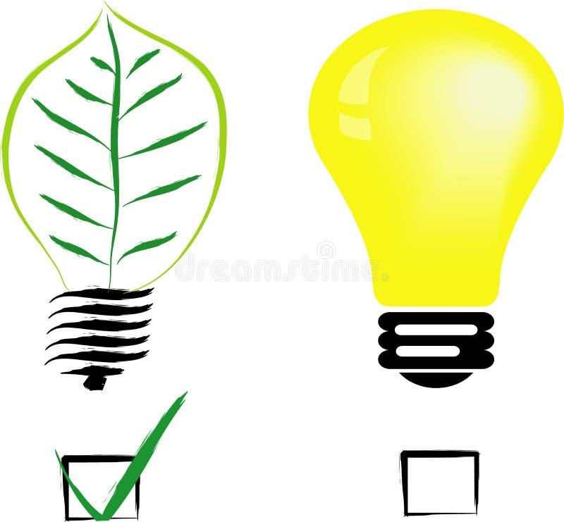 grön normal för kula vektor illustrationer