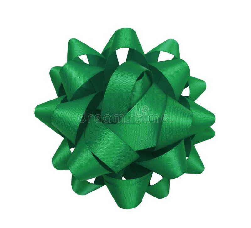 Grön pilbåge arkivbild