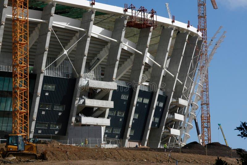 grön punktstadion för konstruktion fotografering för bildbyråer