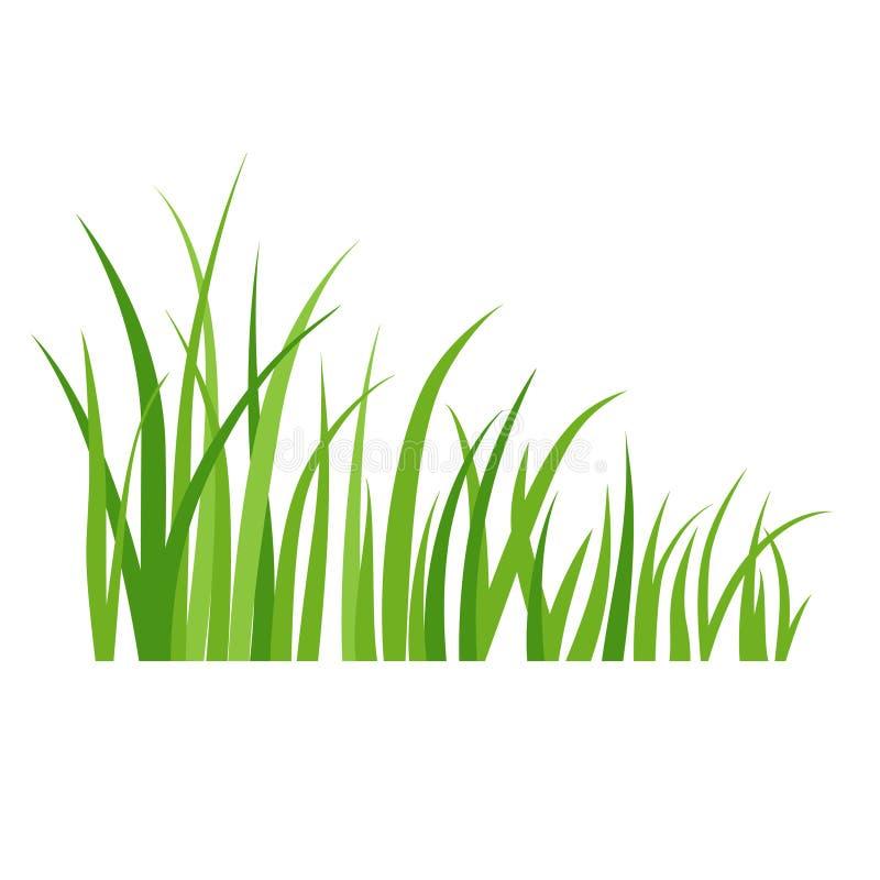 grön sommar för gräs royaltyfri illustrationer