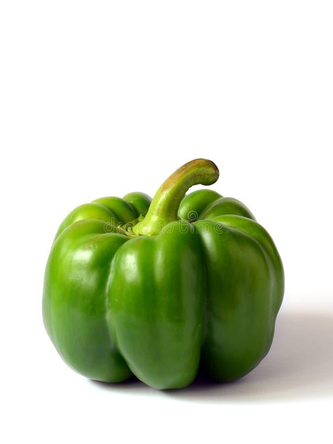 Grön spansk peppar arkivbild