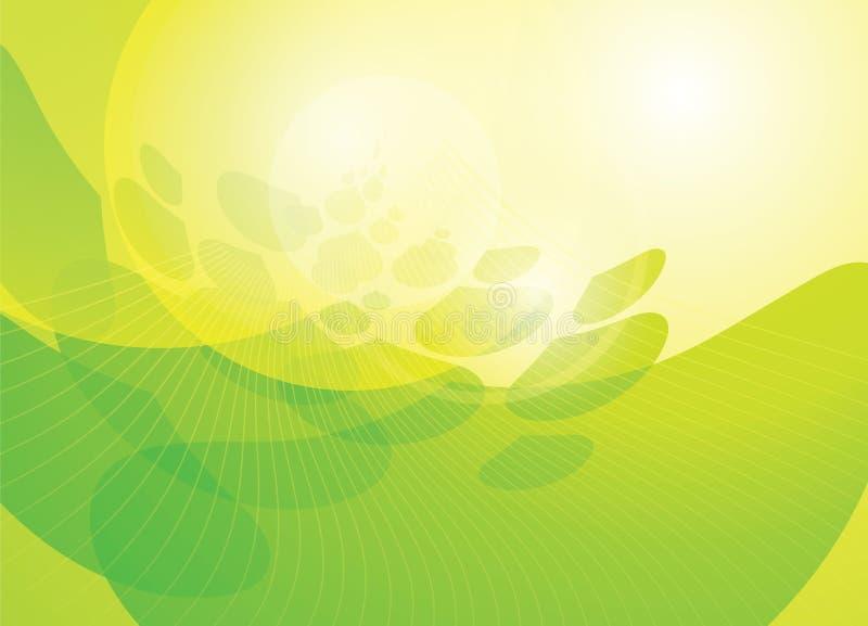grön ström royaltyfri foto