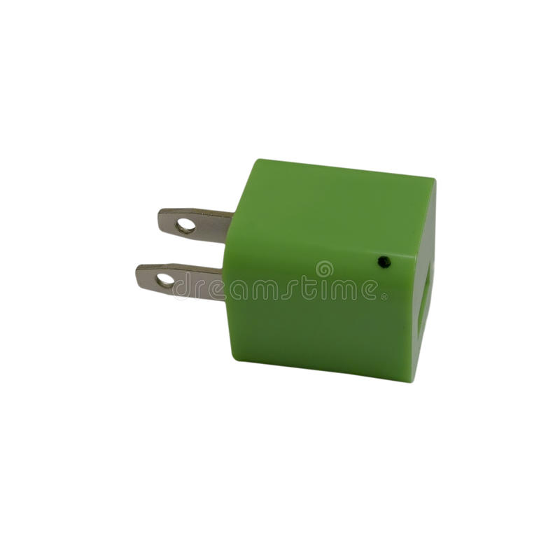 grön ström arkivfoto