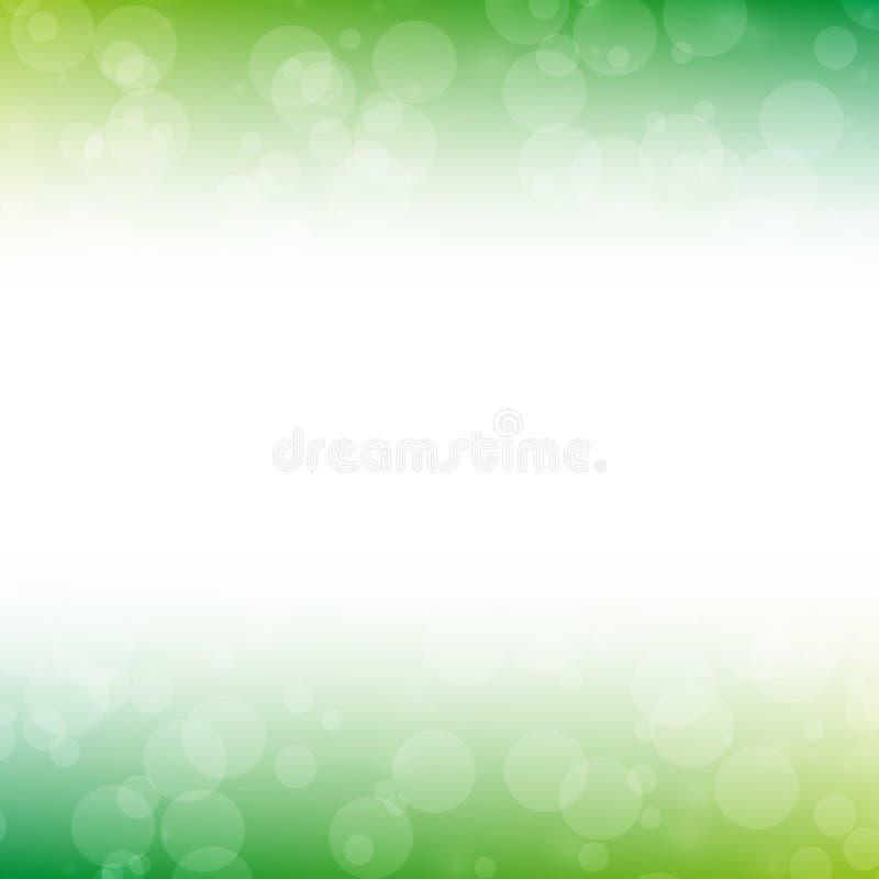 Grön suddighetsabstrakt begreppbakgrund arkivfoto