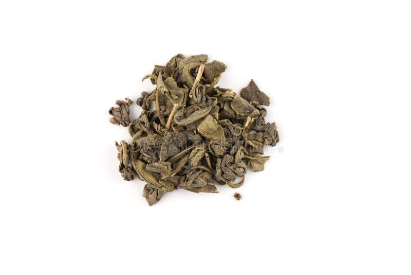 Grön tea för krut arkivbilder