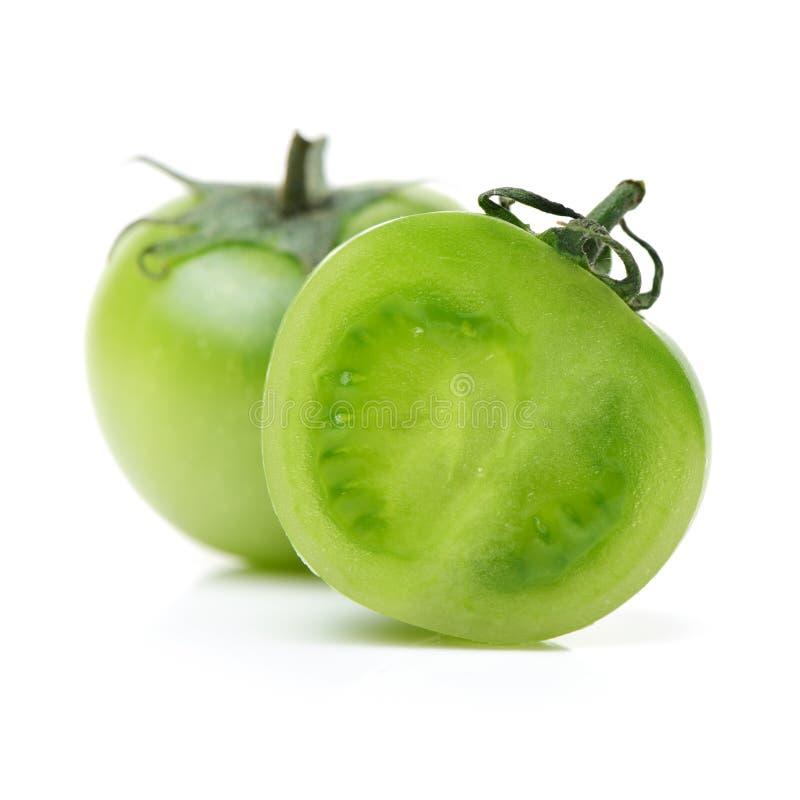 grön tomat fotografering för bildbyråer