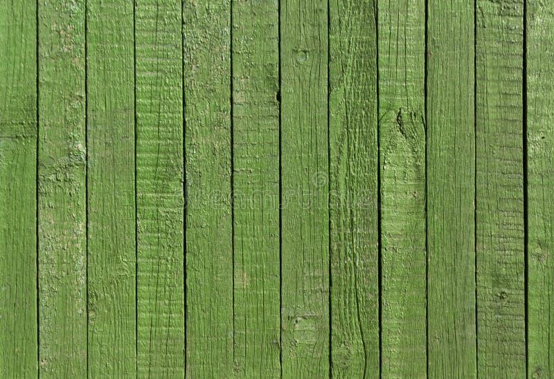 Grön trästakettextur royaltyfri foto