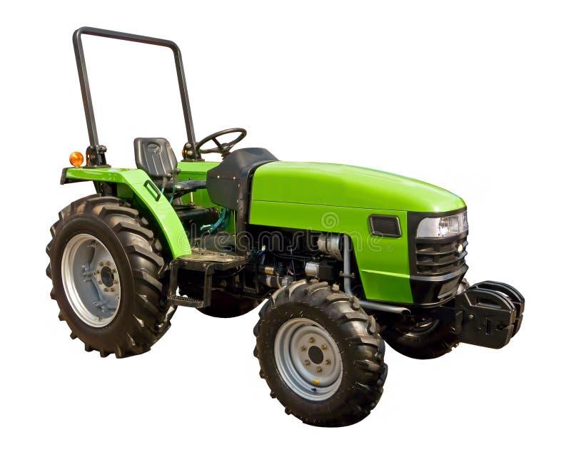 grön traktor arkivbild