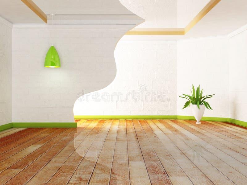 Grön växt och lamporna vektor illustrationer