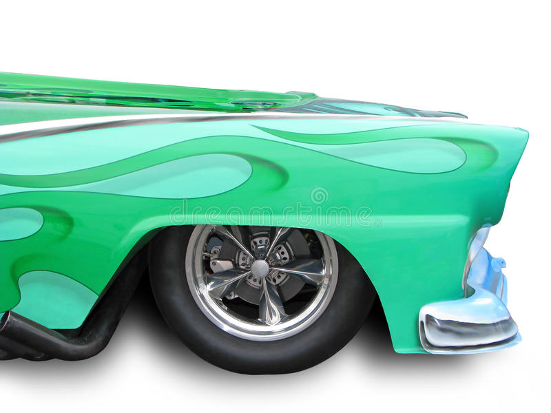 grön varm stång royaltyfri bild