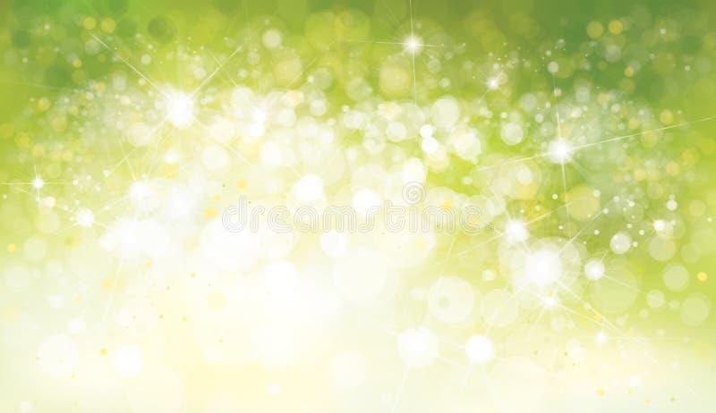 grön vektor för bakgrund royaltyfri illustrationer