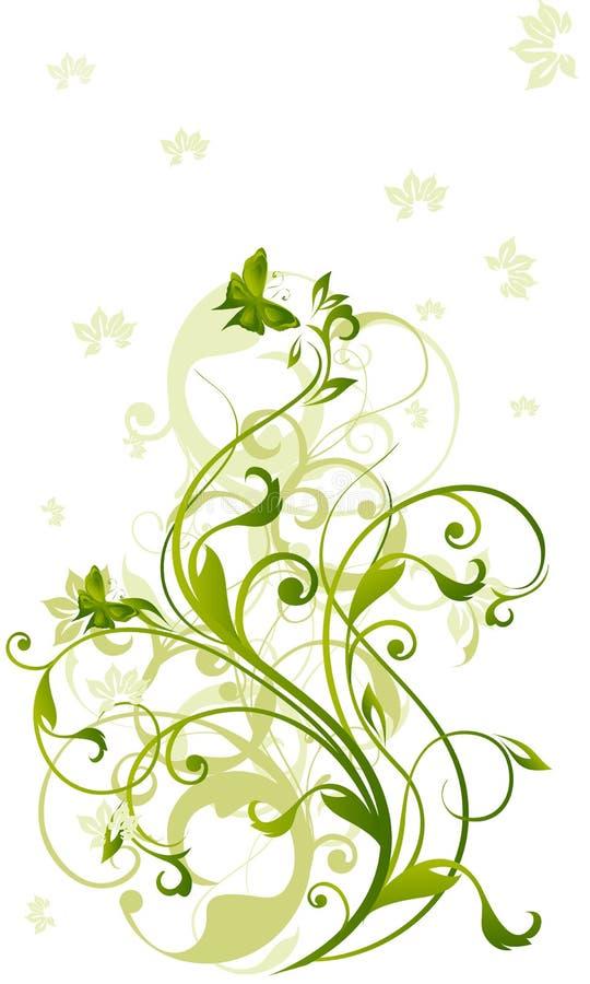 grön vine vektor illustrationer