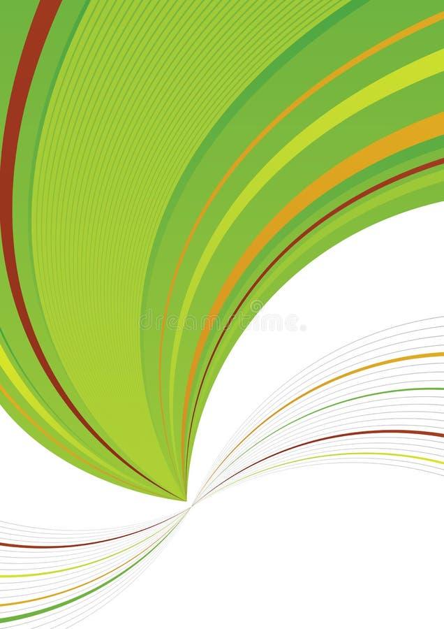 grön white för bakgrund royaltyfri illustrationer