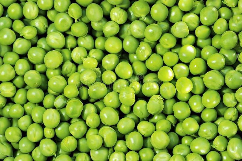 Gröna ärtor royaltyfria foton