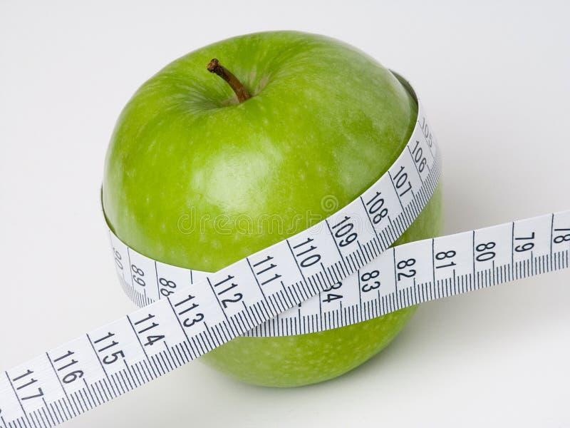 Gröna Apple royaltyfri bild