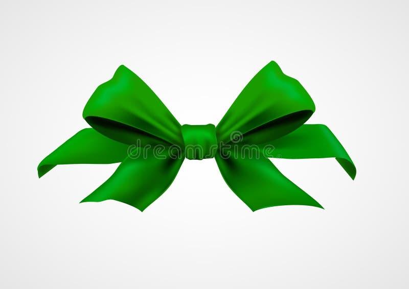 Gröna band 3d vektor illustrationer