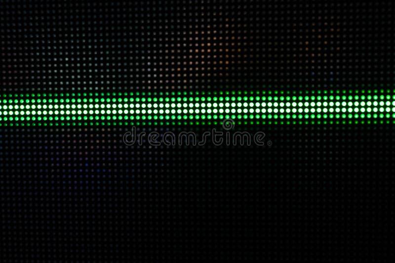 Gröna glänsande Dots Background, nätverksbegrepp arkivbild